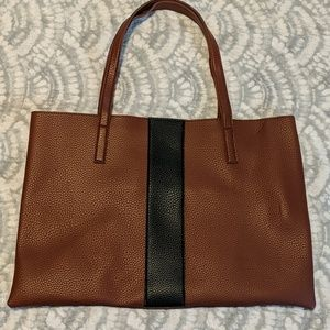 NWOT Vince Camuto E/W Vegan leather tote